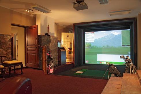 Symulator golfa w Hotelu SPA Wieniawa