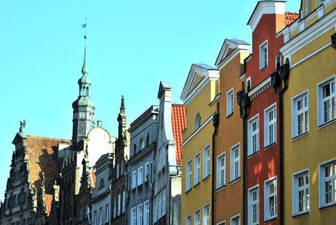 Chlebnicka Street in Gdańsk