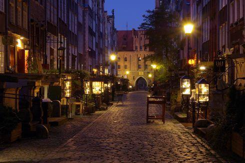 ulica mariacka w gdansku