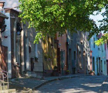 Ulica Sambora – Ogród Historii w Gniewie