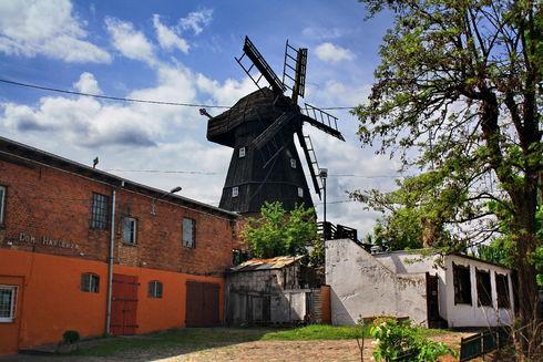 Wiatrak holenderski w Tczewie