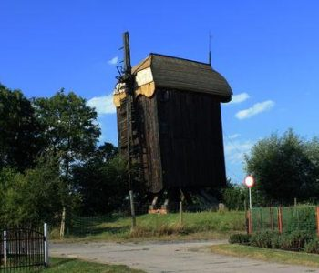 The post mill in Drewnica