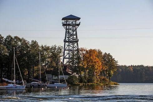 Wieża widokowa Wdzydze Kiszewskie