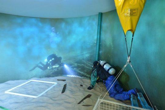 Ośrodek Kultury Morskiej, wystawa interaktywna, fot. materiały promocyjne