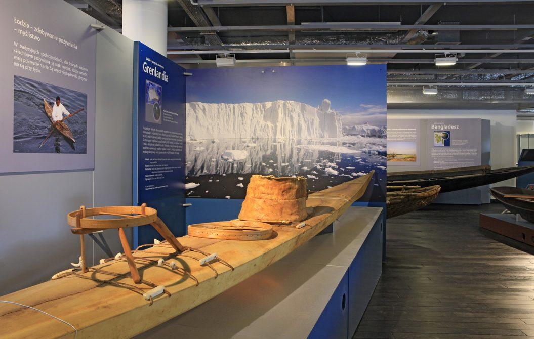 Ośrodek Kultury Morskiej, wystawa łodzie ludów świata , fot. materiały promocyjne
