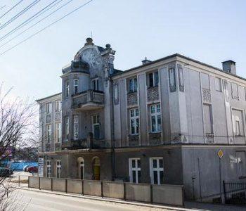 Zabytkowa kamienica przy ul. Jeziornej 38 w Kartuzach