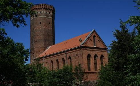 The Castle of the Teutonic Knights in Człuchów
