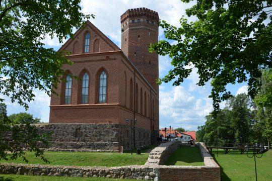 Zamek krzyżacki w Człuchowie, fot. Pomorskie Travel