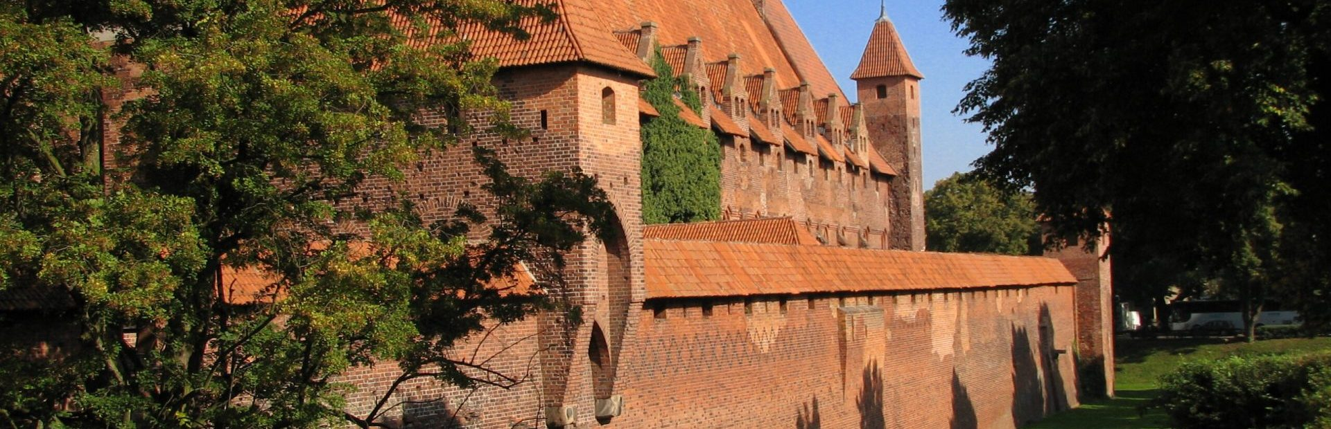 The Castle of the Teutonic Knights in Malbork