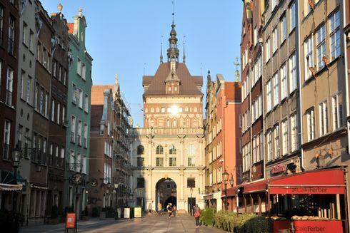 Złota Brama w Gdansku
