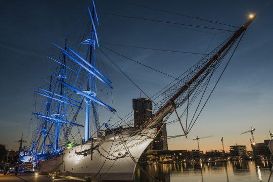 Statek, muzeum, Dar Pomorza, for. Narodowe Muzeum Morskie