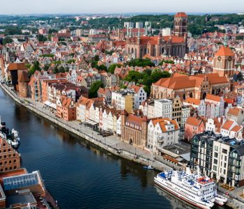 Opened and modern, marked by the history. Welcome to Gdansk