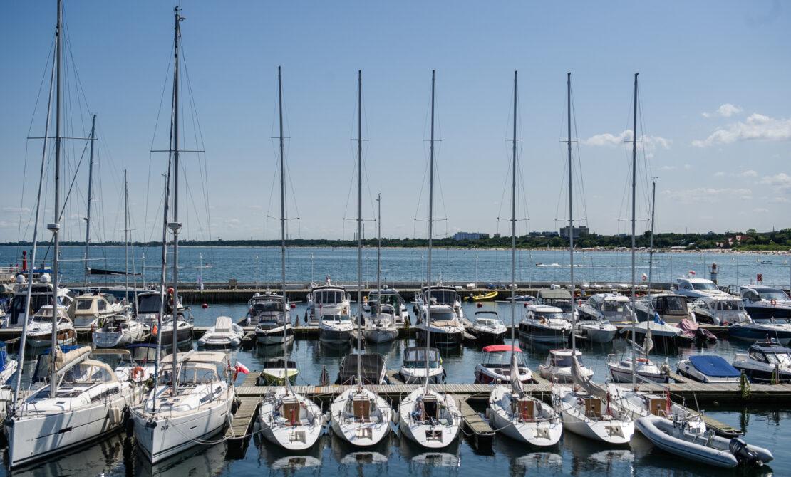 Przystań jachtowa w Sopocie, fot. pomorskie.travel, M.Ochocki