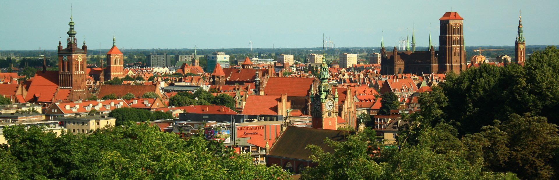 Punkty widokowe w południowych dzielnicach Gdańska