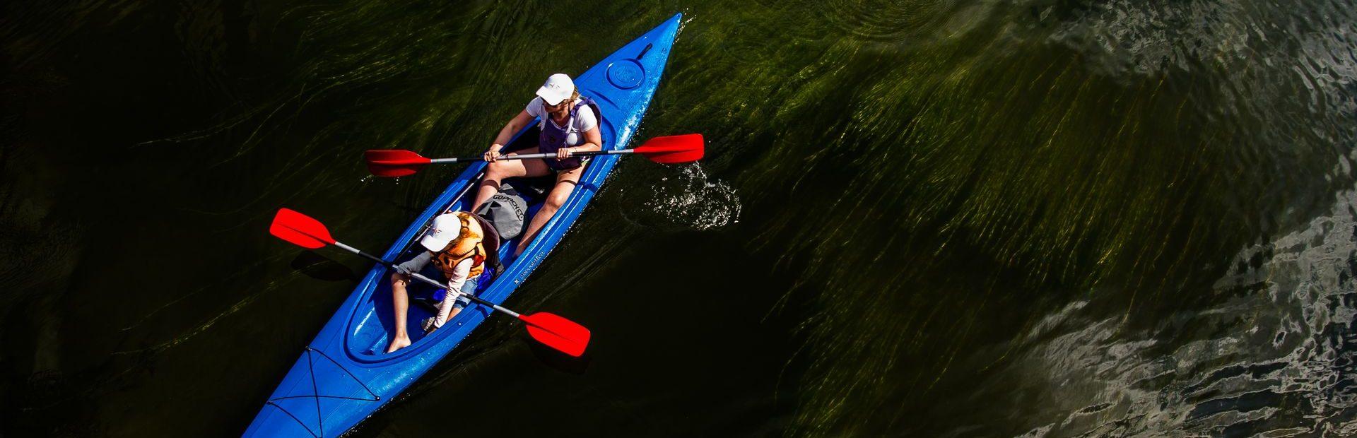 Tucholskie Forests by kayak