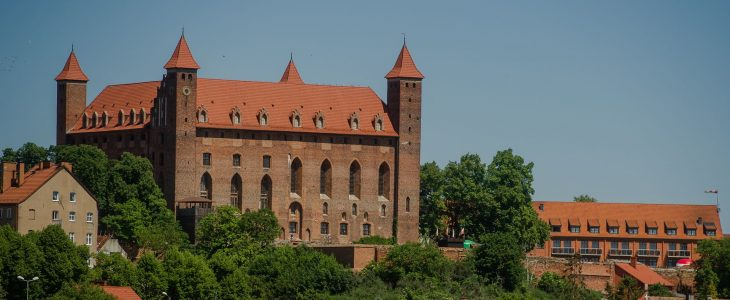 The Castle of the Teutonic Knights in Gniew