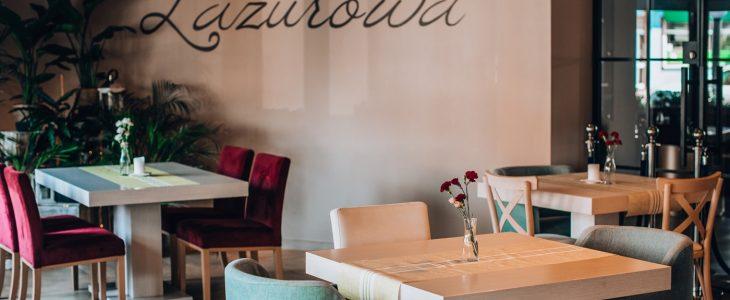 Lazurowa w Hotelu Szafir