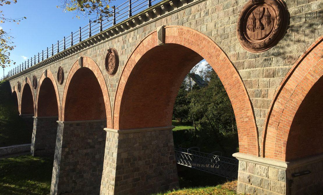 Bytów, most nad Borują, fot. Pomorskie Travel