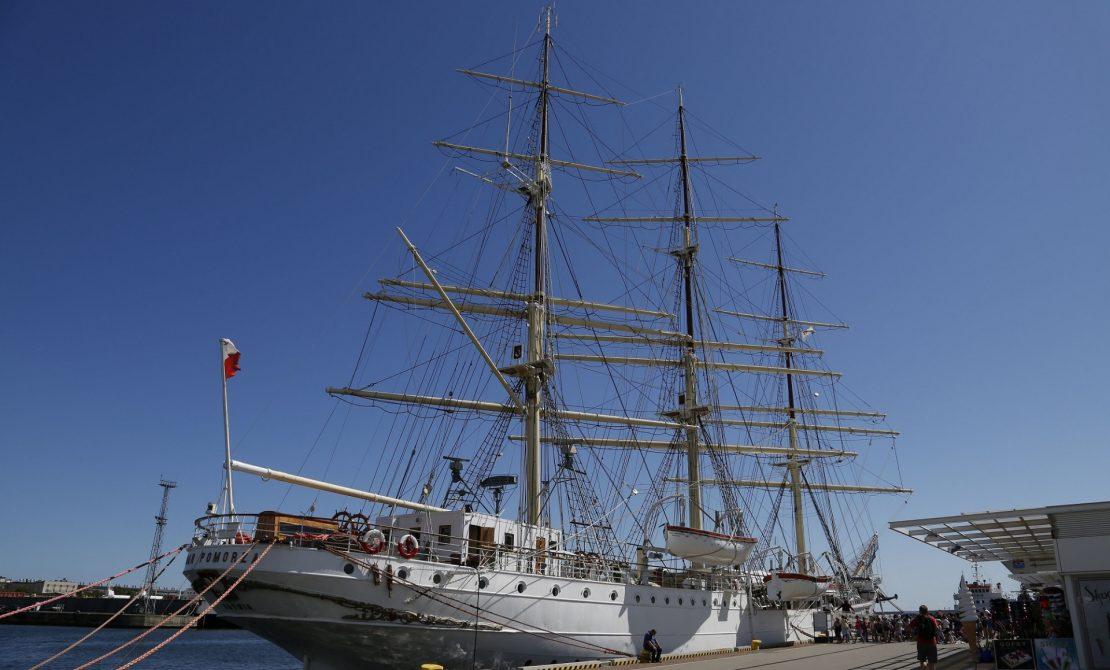 Statek, muzeum, Dar Pomorza, fot. Narodowe Muzeum Morskie