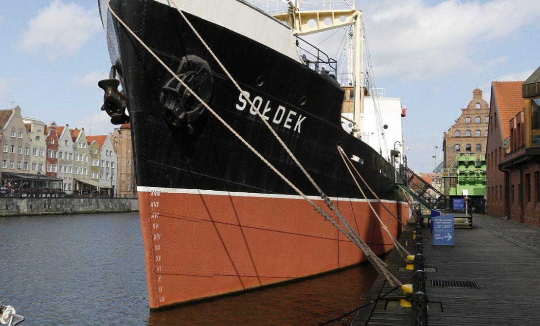 Statek-muzeum Sołdek, fot. Narodowe Muzeum Morskie